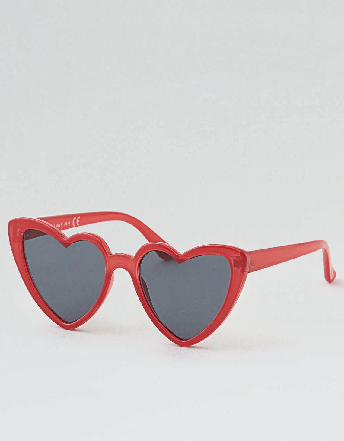 American Eagle heart-shaped sunglasses