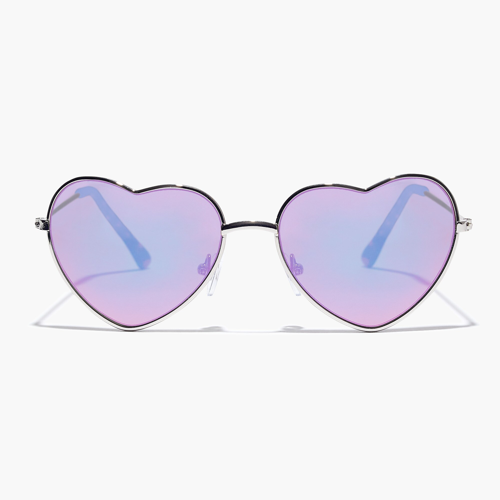 J.Crew heart-shaped sunglasses