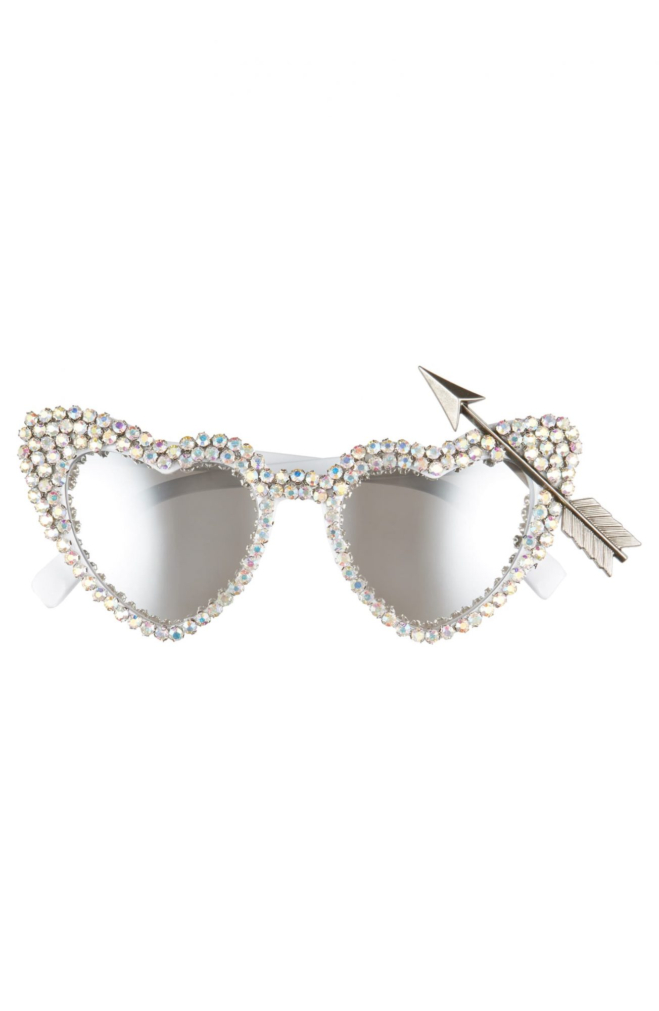 Rad + Refined heart-shaped sunglasses