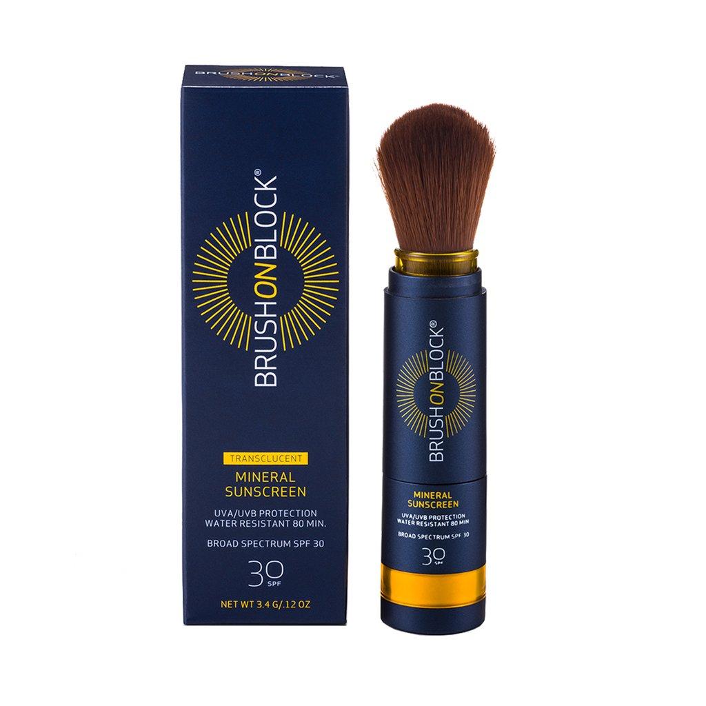 Brush on Block powder sunscreen