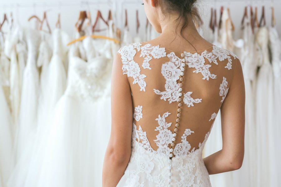 wedding dress pockets