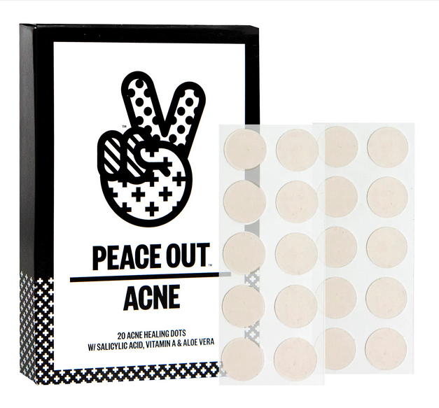 Peace Out Acne Healing Dot stickers