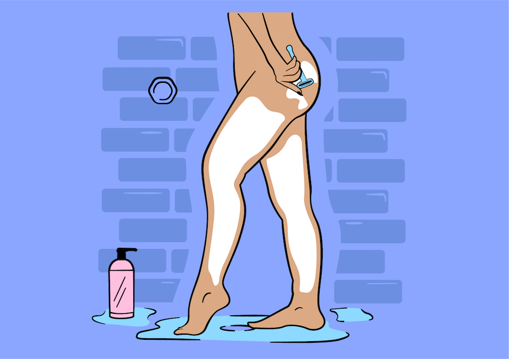 Shaving Your Body