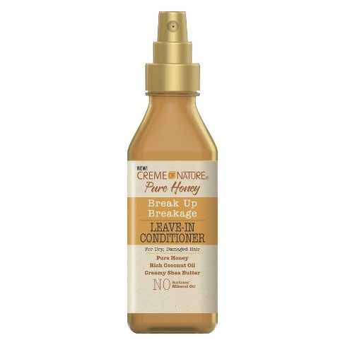 Creme of Nature Pure Honey Breakup Breakage Leave-In Conditioner