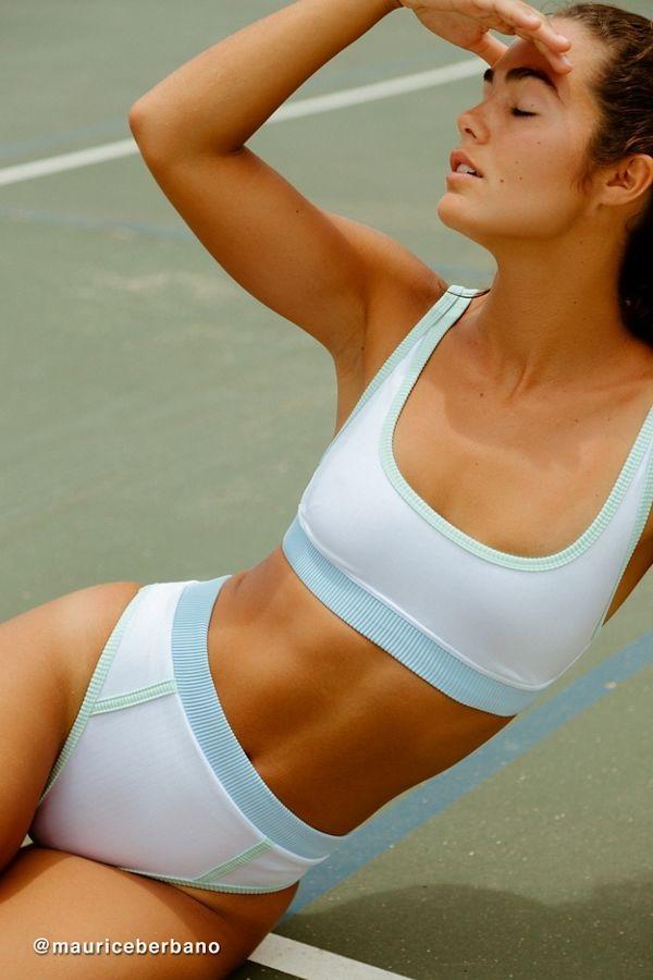 urban outfitters white bikini