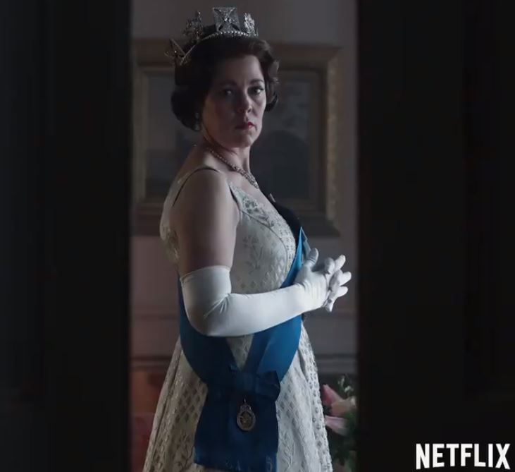 "A teaser for Season 3 of ""The Crown."""