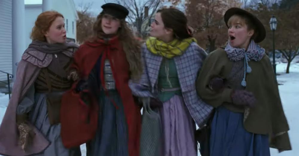 """A still from the """"Little Women"""" trailer."""