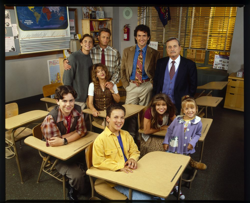 "The ""Boy Meets World"" cast in 1994."