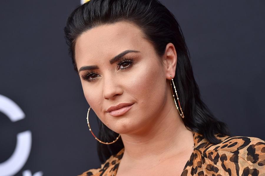 Demi Lovato at the billboard music awards