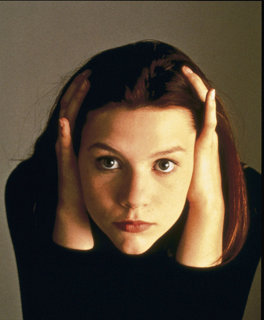 Claire Danes as Angela in My So-Called Life