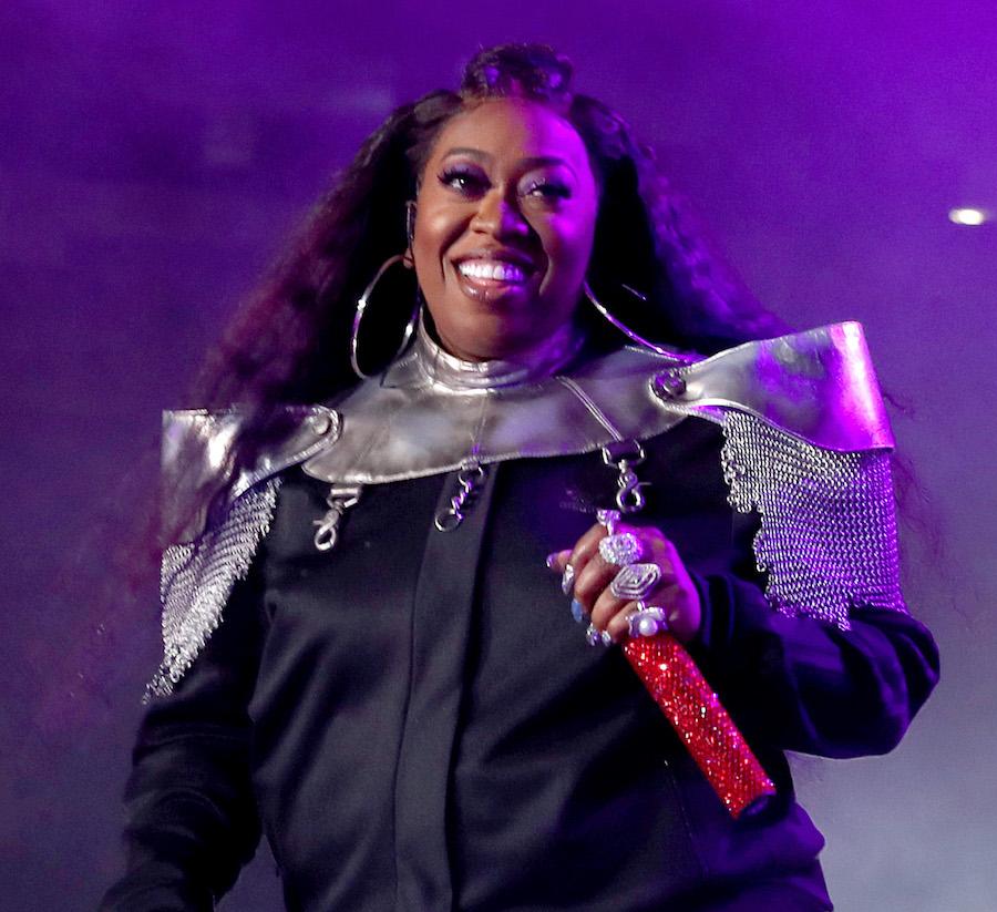 Missy Elliott performing in 2019