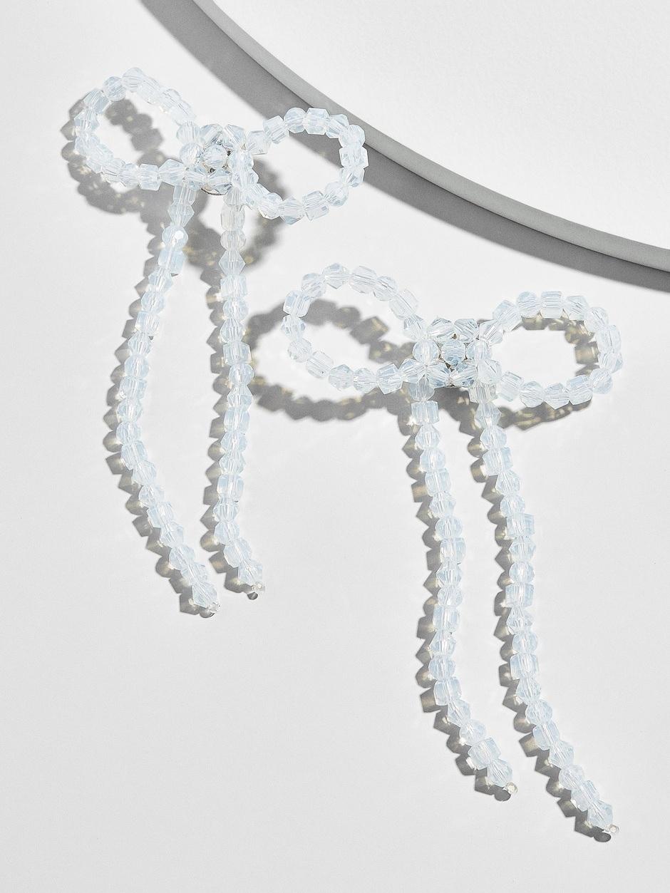 baublebar bow earrings