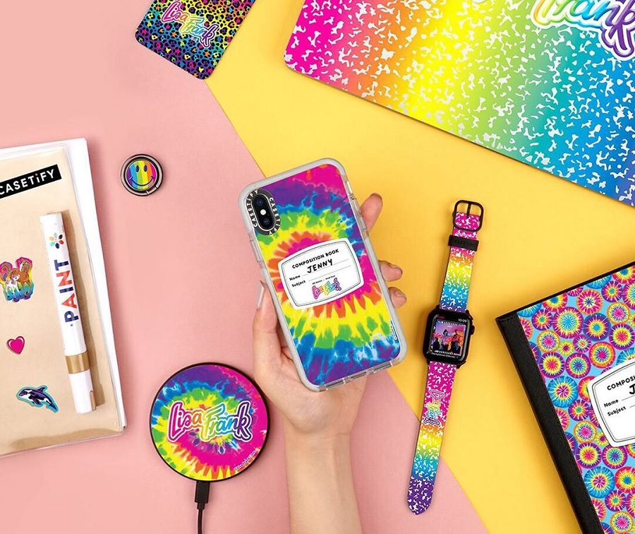 Casetify Lisa Frank collection