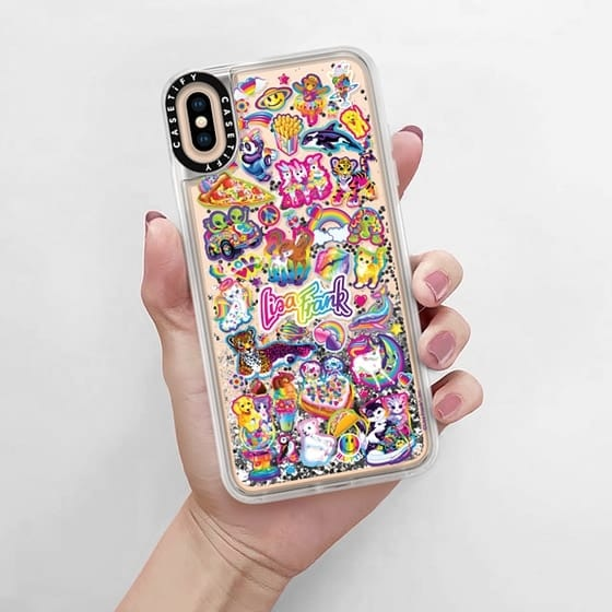 lisa frank stickers iphone case