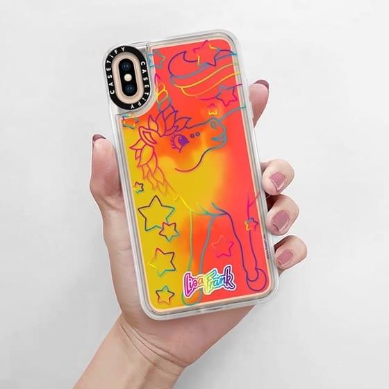 lisa frank unicorn phone case
