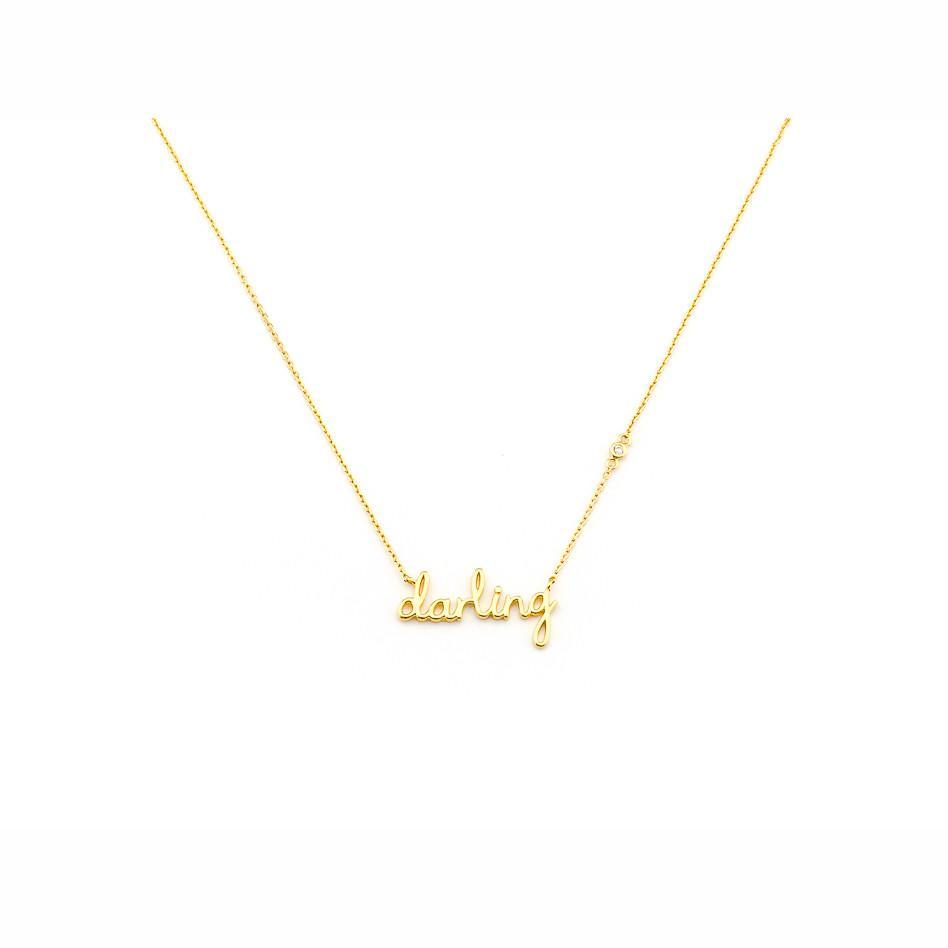 Tai Jewelry nameplate necklace