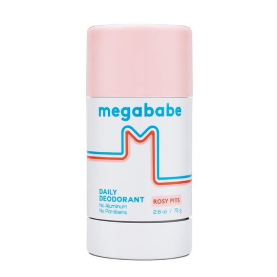 Megababe Rosy Pits Natural Deodorant for Sensitive Skin