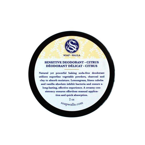 Soapwalla natural deodorants for sensitive skin