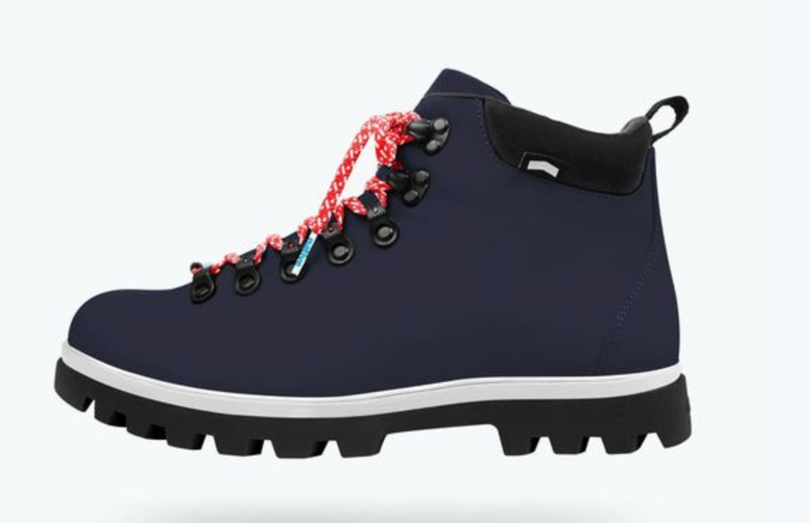 sustainable hiking boot