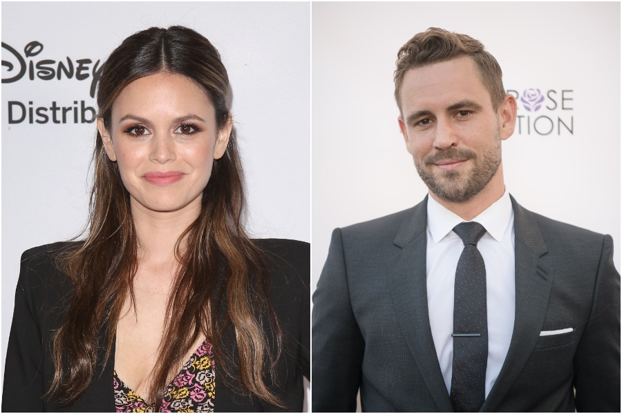 rachel bilson and bachelor nick viall