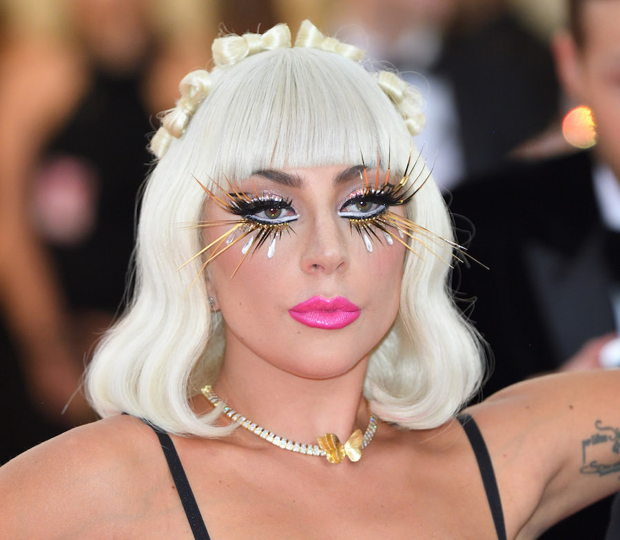 Lady Gaga makeup at Met Gala