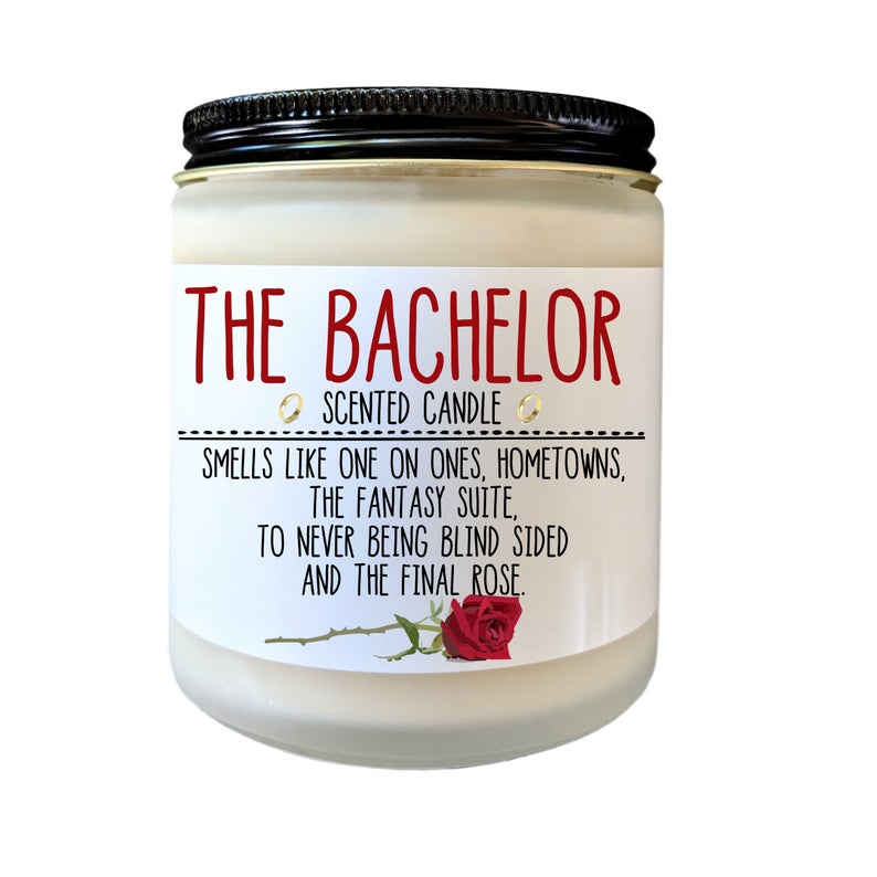 the bachelor candle tv pop culture gifts