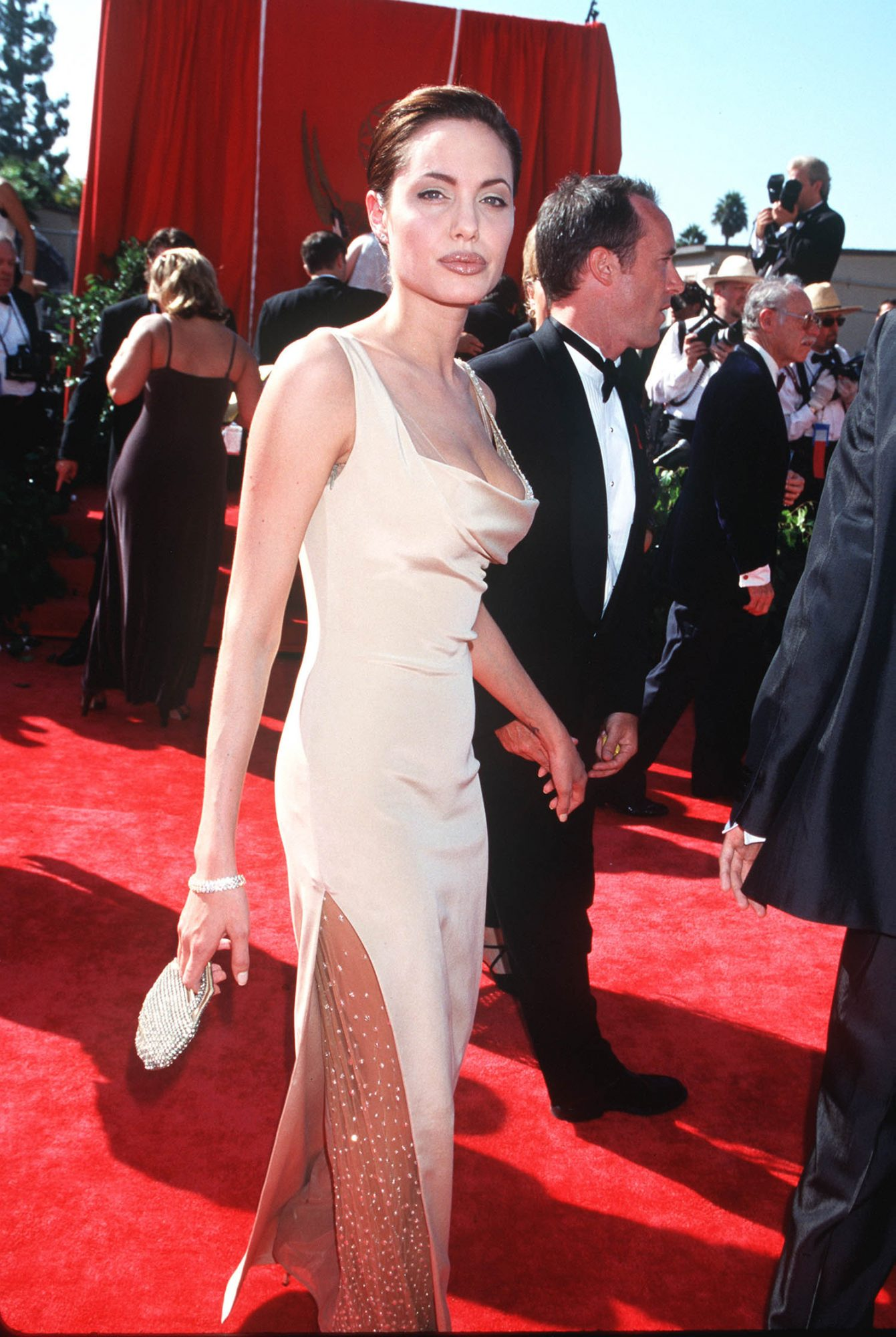angelina jolie emmys red carpet
