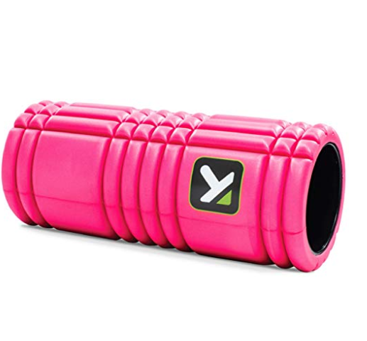 pink trigger point foam roller from amazon