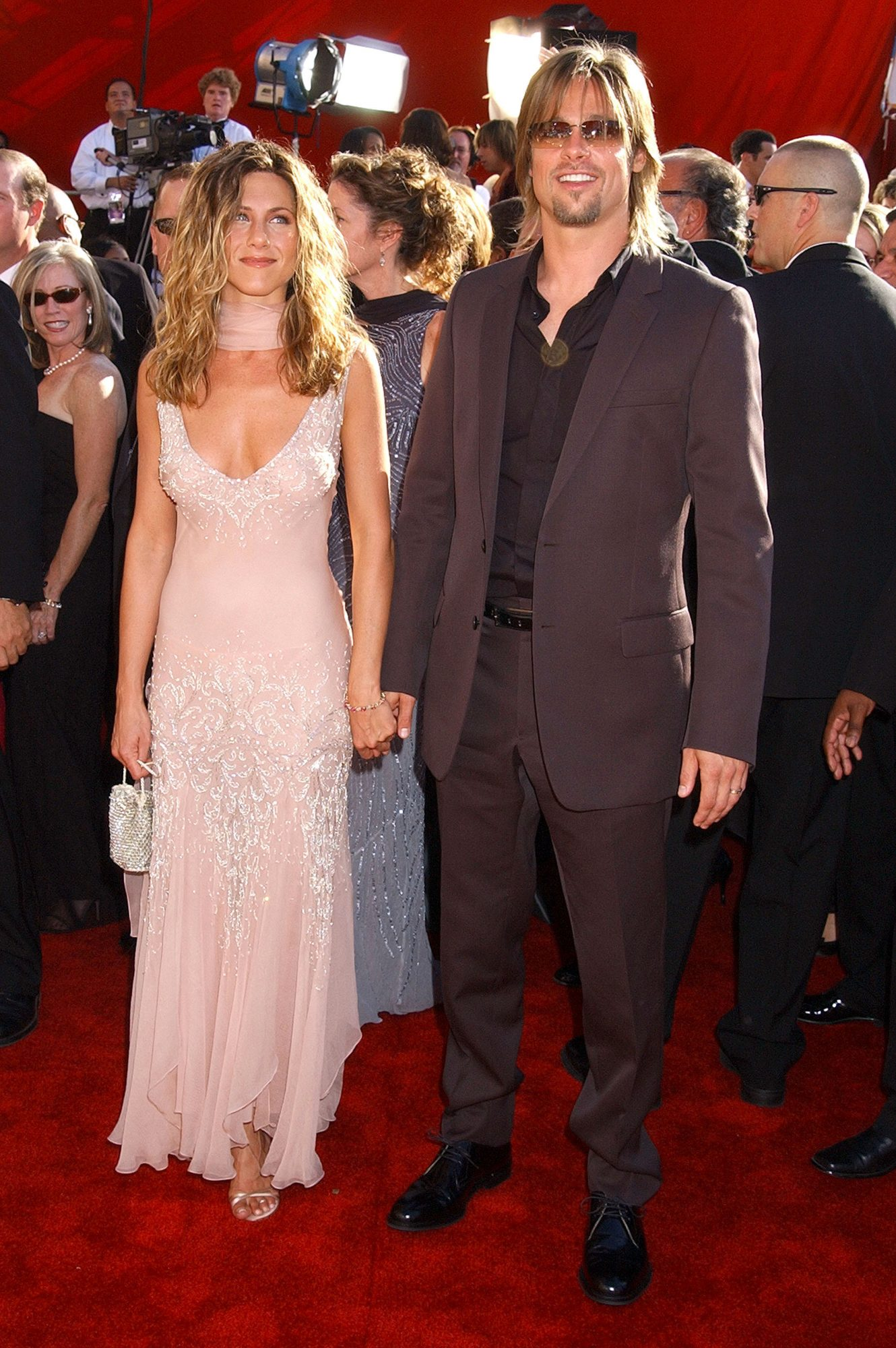 jennifer anniston emmy award red carpet, best emmy red carpet looks
