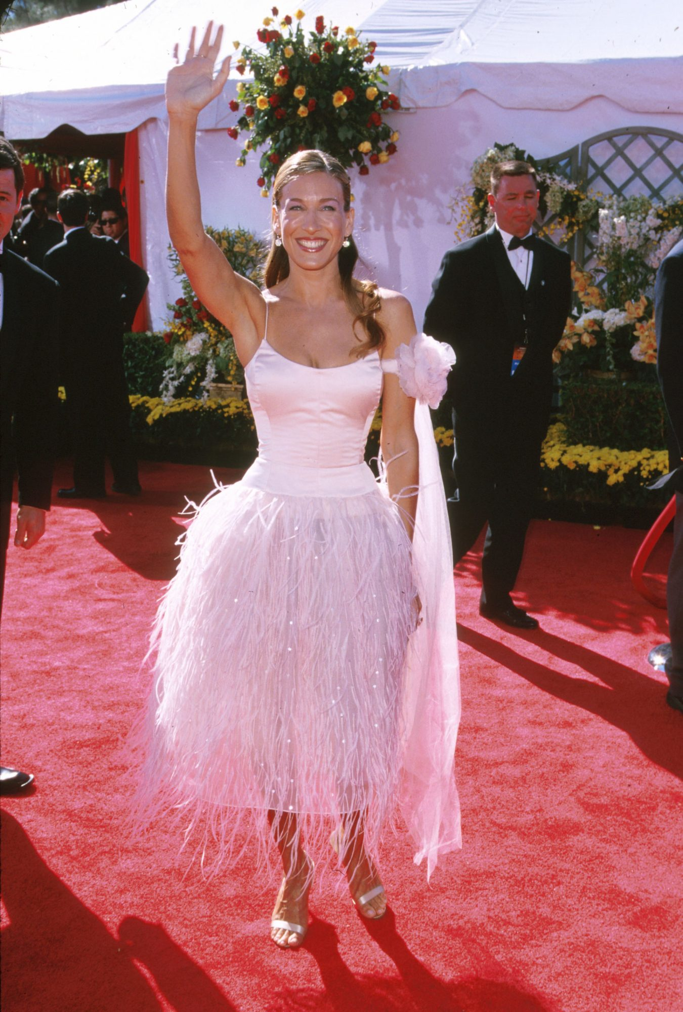 sarah jessica parker emmy awards red carpet