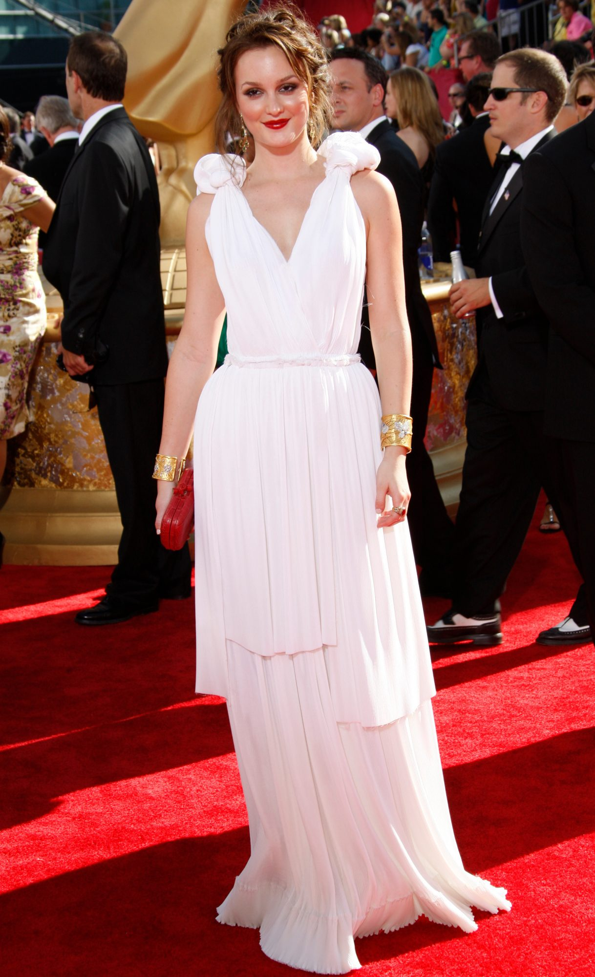 leighton miester emmy wards, best emmy awards red carpet looks