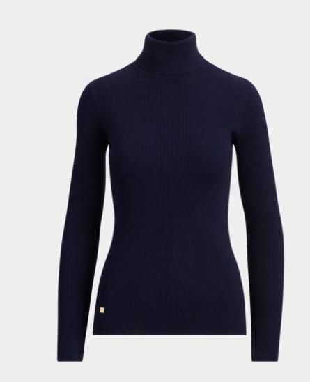 ralph lauren friends collection launch navy turtleneck sweater