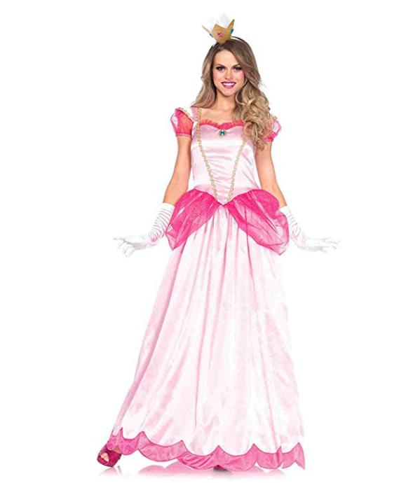 princess peach halloween costume easy cute halloween ideas