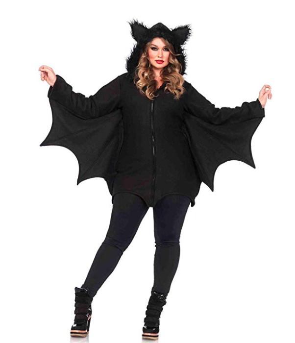 bat halloween costume, cute easy halloween ideas