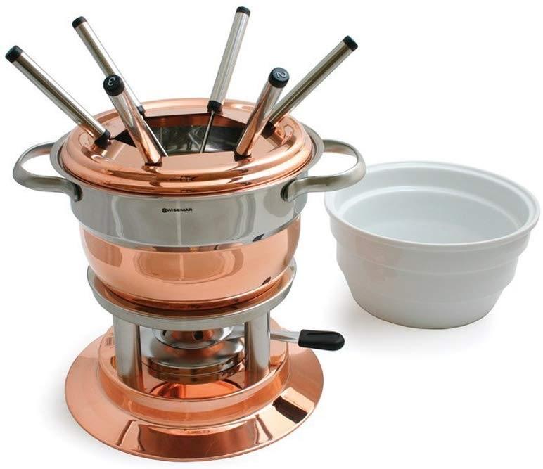 copper fondue set from amazon
