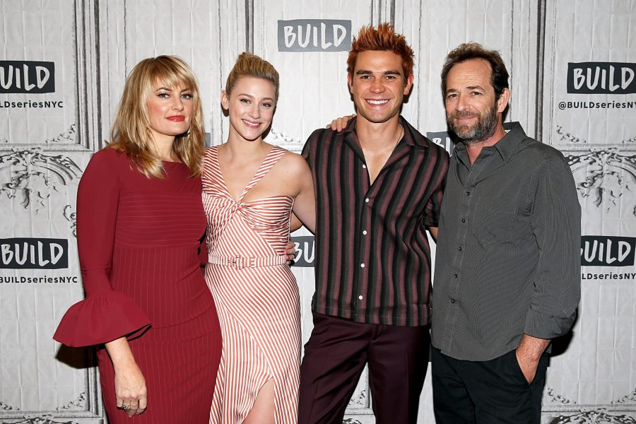 Luke Perry and Riverdale cast