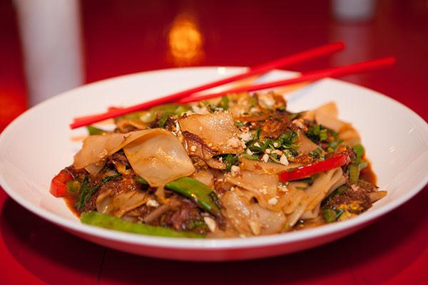 Chino Chinatown's short rib drunken noodles.