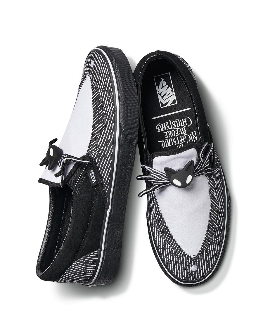 vans the nightmare before christmas slip on sneakers