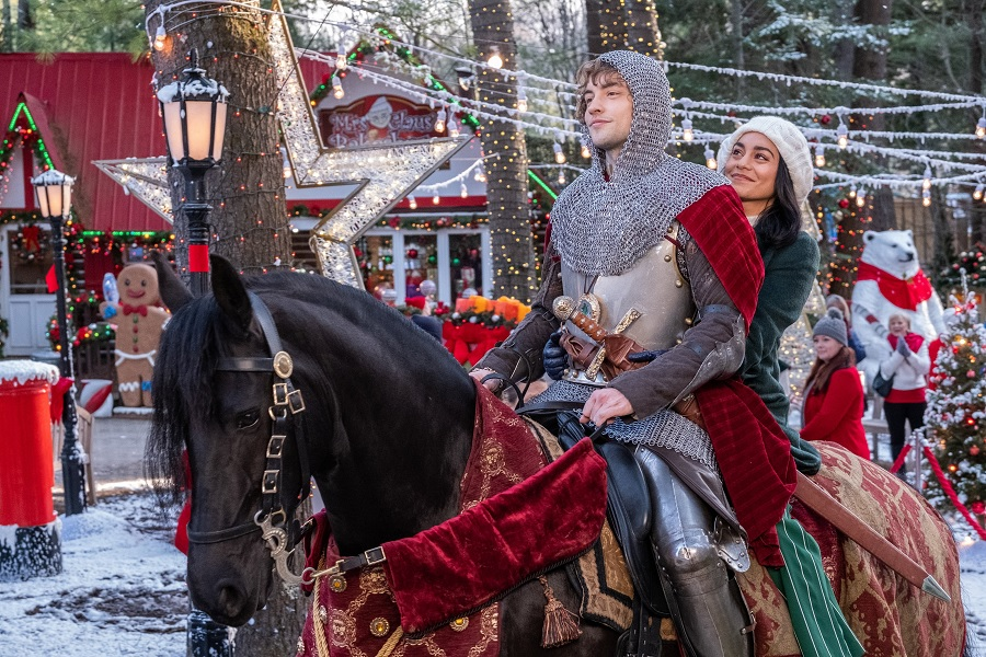 vanessa hudgens in the knight before christmas