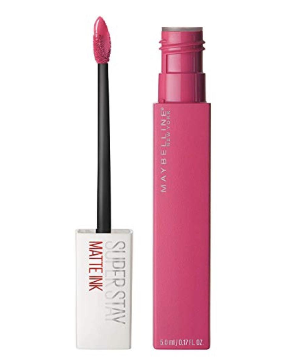 Maybelline Superstay Matte Ink lipstick, best drugstore matte lipstick