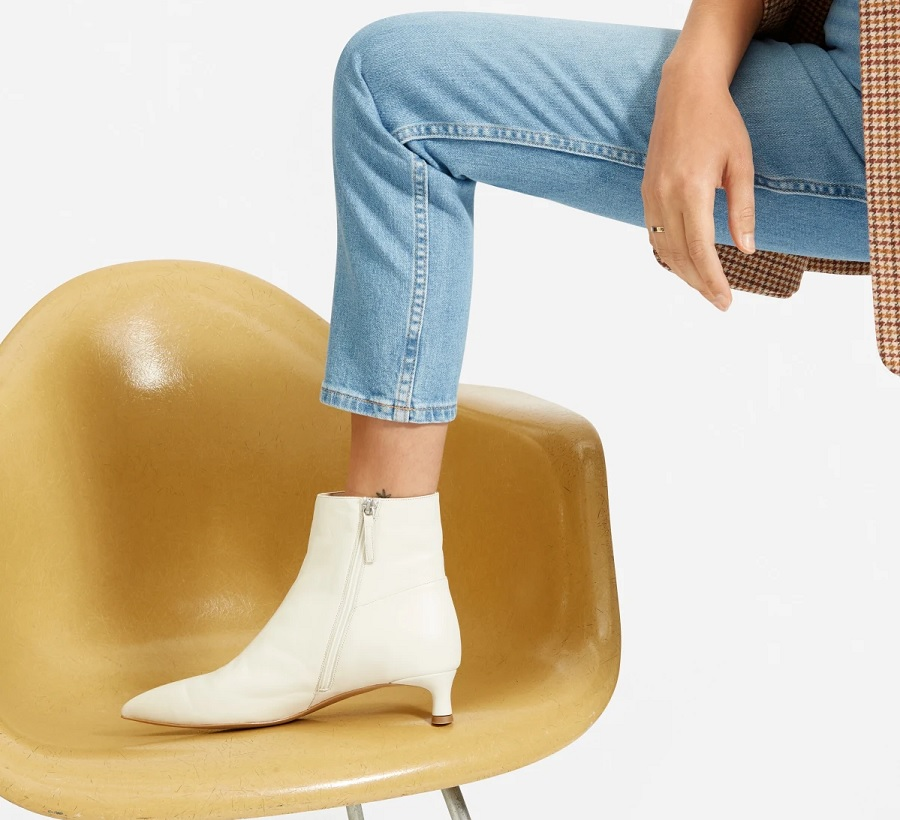 everlane the editor ankle booties