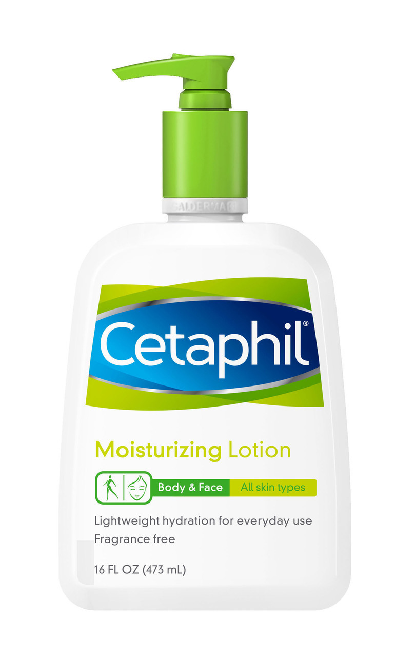 cetaphil lotion, best drugstore body lotion all skin types