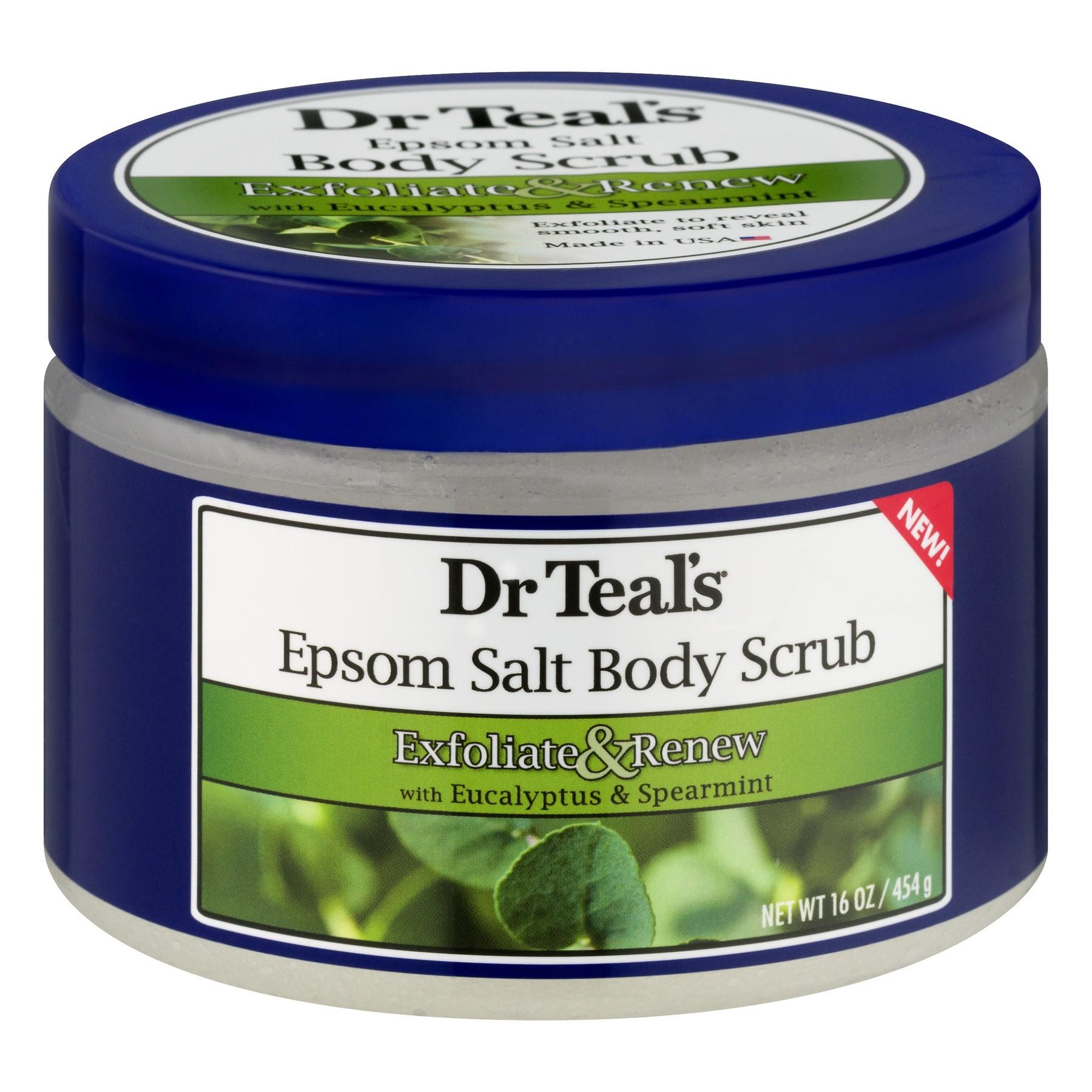 dr teals epsom salt scrub
