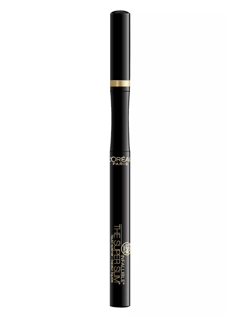 loral paris super slim eyeliner best drugstore eyeliner
