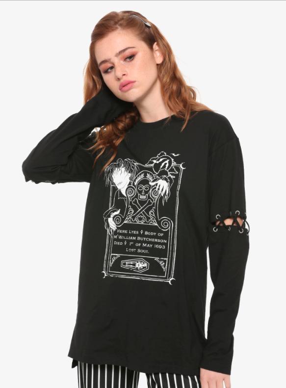 hocus pocus glow in dark shirt halloween