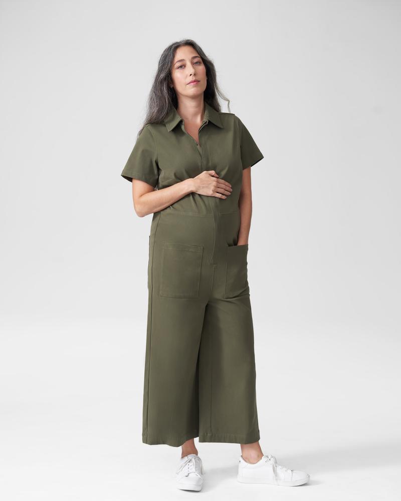 universal standard maternity jumpsuit