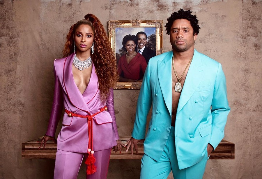 ciara and russell wilson and beyonce and jay z halloween costume