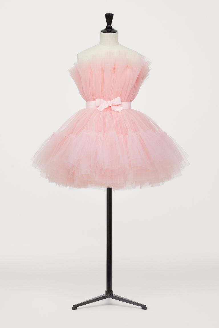hm short tulle dress