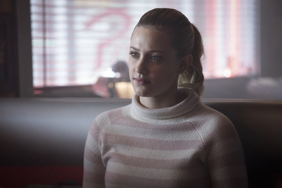 lili reinhart as betty cooper from riverdale