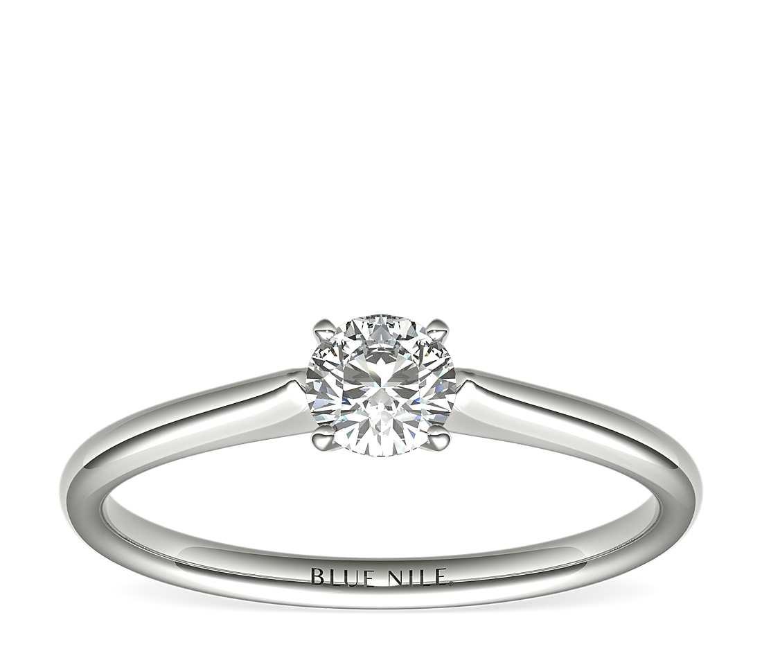 blue nile affordable engagement ring